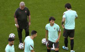 Euro2020: Félix reintegrado e Mendes à parte na antevéspera da 'decisão' com a França