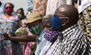Covid-19: Angola com nove mortes e 70 novos casos nas últimas 24 horas