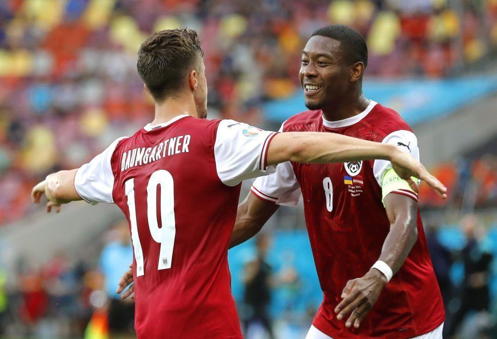 Euro2020: Áustria bate Ucrânia e qualifica-se para os oitavos de final
