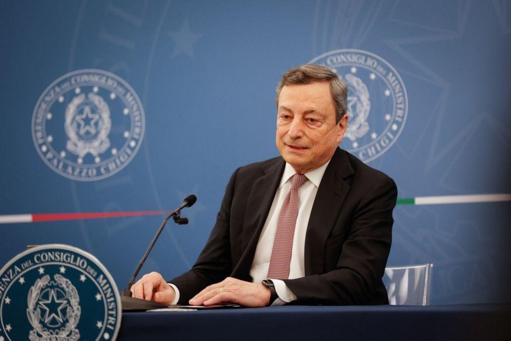 Euro2020: Primeiro-ministro italiano critica final em Londres por causa da pandemia