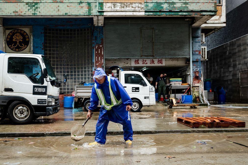 Macau identifica problemas que causaram inundações após chuvas sem precedentes