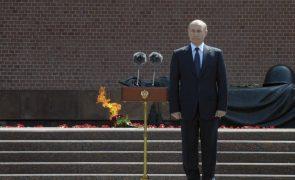 Putin alerta para degradação da segurança na Europa