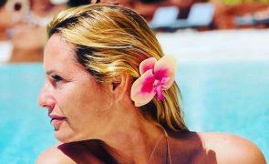 Fernanda Serrano: as imagens da atriz a bordo de um cruzeiro de luxo