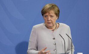 Covid-19: Merkel aponta situação em Portugal para criticar descoordenação na UE