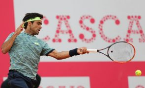 Frederico Silva conquista vitória na primeira ronda do 'qualifying' de Wimbledon