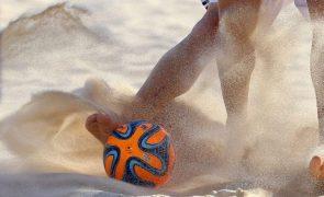 Portugal nos 'quartos' da fase de qualificação para Mundial de futebol de praia