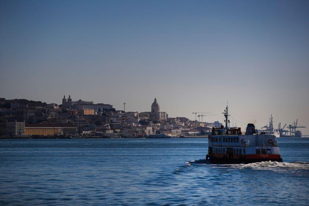 Ligações fluviais da Soflusa entre Lisboa e Barreiro interrompidas das 08:50 às 13:00