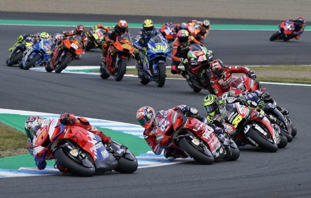 Covid-19: GP do Japão de MotoGP cancelado devido à pandemia