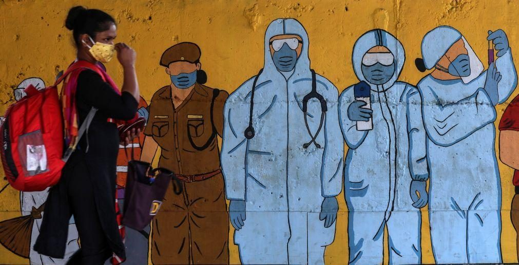 Covid-19: Casos de infeção no mundo superam os 179 milhões