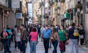 Covid-19: Incidência ultrapassa os 120 casos por 100 mil habitantes em todo o território