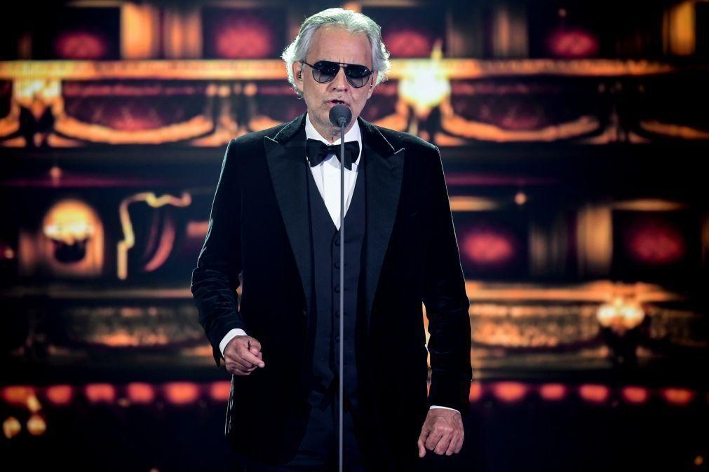 Lotação esgotada prevista para os dois concertos de Andrea Bocelli em Coimbra