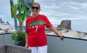 Dolores Aveiro faz prognóstico para o jogo entre Portugal e França