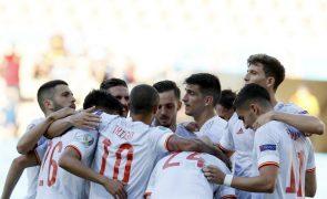 Euro2020: Espanha goleia Eslováquia, apura-se e qualifica Ucrânia