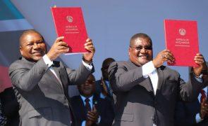 PR moçambicano e líder da Renamo reiteram empenho na paz