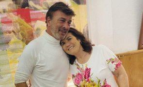Dolores Aveiro deixa mensagem para Tony Carreira após enfarte
