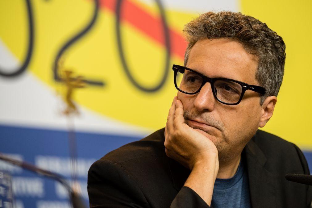 Realizador Kléber Mendonça Filho e atriz Maggie Gyllenhaal no júri do Festival de Cannes