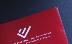 OE2021: INE divulga hoje saldo orçamental do 1.º trimestre
