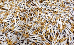Estudo diz que consumo de cigarros ilícitos em Portugal caiu em 2020