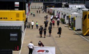 Covid-19: GP da Grã-Bretanha de Fórmula 1 com 140 mil espetadores