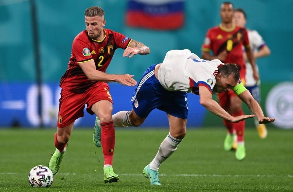 Euro2020: Alderweireld diz que Bélgica