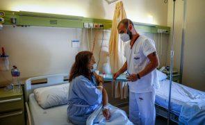 Covid-19: Hospital Amadora-Sintra vacina 200 doentes internados