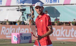 Dominic Thiem falha torneio de Wimbledon devido a lesão