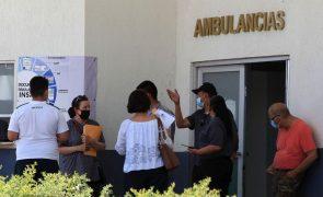 Covid-19: México com 221 mortos e 5.340 casos nas últimas 24 horas