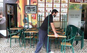 Covid-19: Novas medidas têm enorme impacto na restauração e alojamento turístico