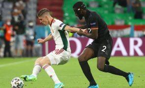 UEFA abre inquérito a possíveis atos discriminatórios no Alemanha-Hungria