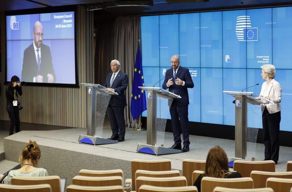 UE/Presidência: Trabalho de Costa