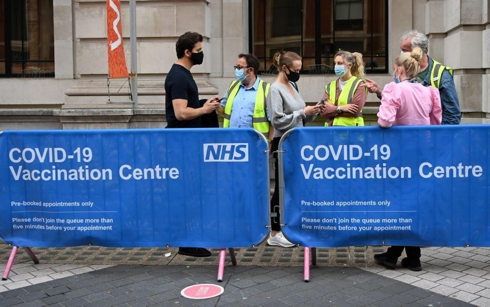 Covid-19: Reino Unido com aumento de 46% em casos da variante Delta