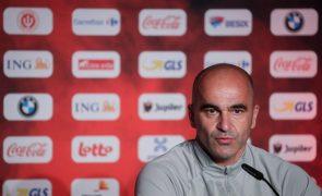 Euro2020: Bélgica vai defender como equipa e sem plano para Ronaldo - Martínez