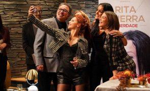 Atores da novela A Serra recusam gravar com Rita Guerra