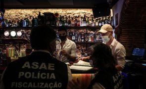 Covid-19: ASAE instaura 31 contraordenações e fecha dez espaços de diversão noturna em Lisboa