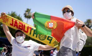 Euro2020: Menos de meia centena recebeu Portugal em Sevilha