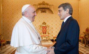 David Sassoli defende perante o Papa o