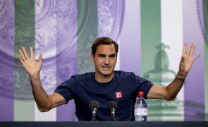 Tóquio2020: Federer só decide participação depois de Wimbledon