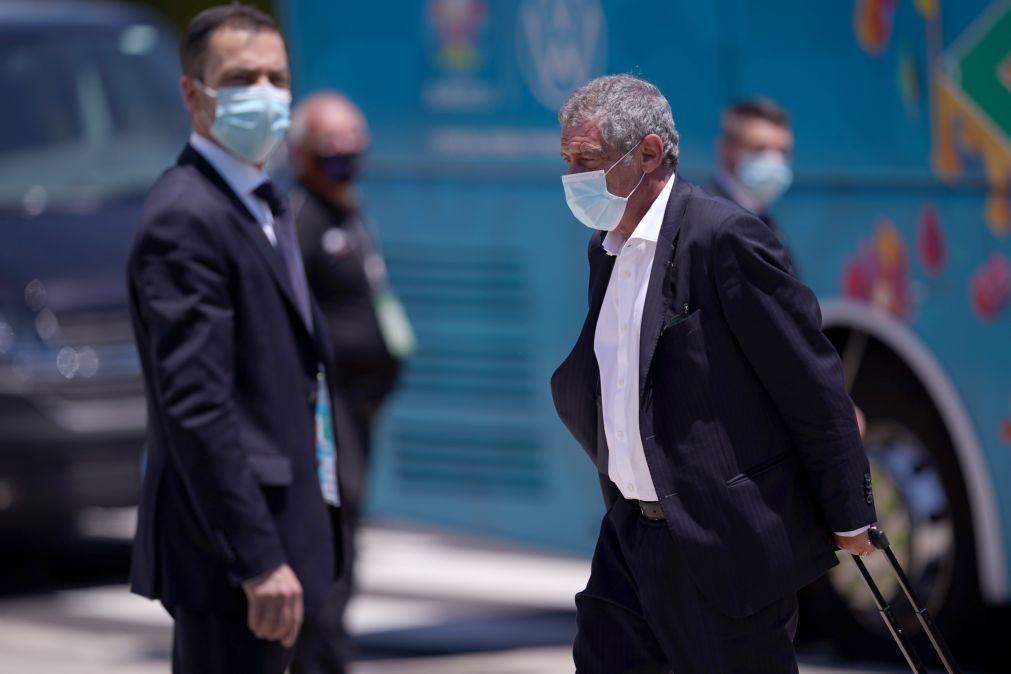 Euro2020: Fernando Santos diz que