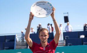 Daniil Medvedev conquista primeiro título em relva em Maiorca