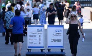 Covid-19: Reino Unido conta 18.270 novos infetados, um recorde desde fevereiro