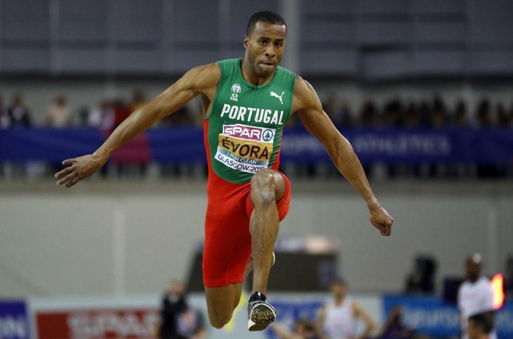 Nelson Évora muito longe do seu melhor nos Campeonatos de Portugal