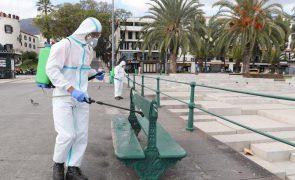 Covid-19: Madeira reporta sete novos casos e 61 situações ativas
