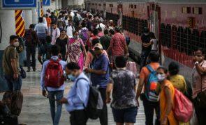Covid-19: Índia com mais 50.040 casos e 1.258 mortes