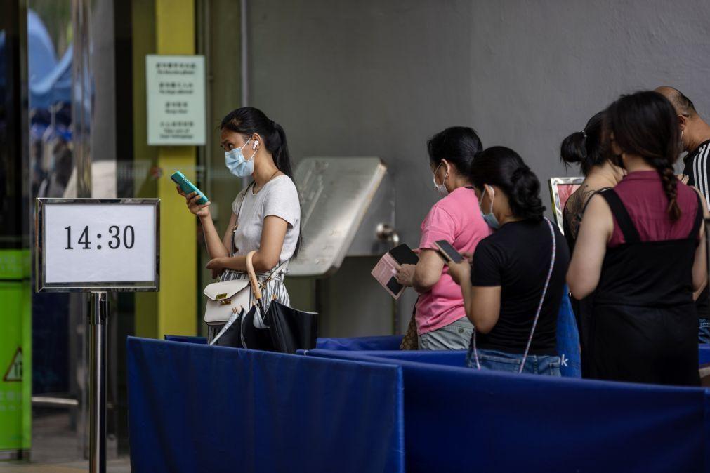 Covid-19: China com mais 14 casos, todos oriundos do estrangeiro