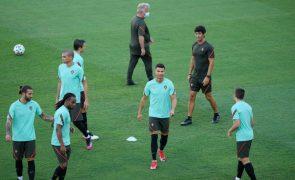 Euro2020: Portugal defende estatuto frente à Bélgica nos oitavos