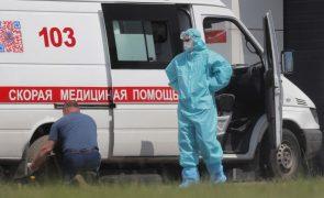 Covid-19: Moscovo atinge recorde de 144 mortes nas últimas 24 horas