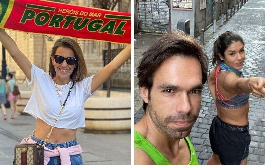 Pipoca em Sevilha... e o ex-marido e namorada também andam por Espanha