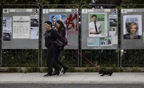 Afluência às urnas nas eleições regionais francesas continuava baixa às 17h00