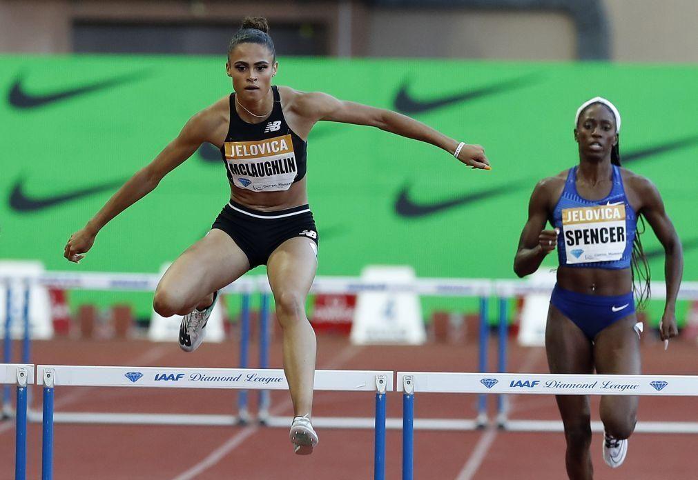 Norte-americana Sydney McLaughlin bate recorde do mundo dos 400 metros barreiras
