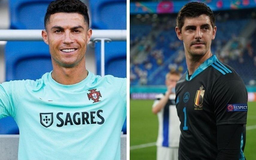Divulgada conversa de Ronaldo com guarda-redes da Bélgica [vídeo]